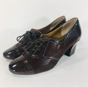Anne Klein Patent Dress Booties Size 8